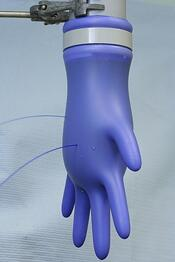 AQL Testing Disposable Glove for Watertightness