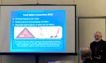 Barry Michaels Presenting Unregulated food polymers