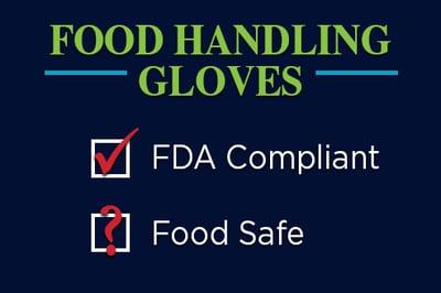 FDA Certified Gloves Food Safe