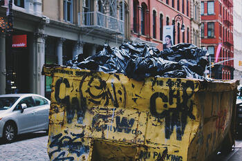 Garbage Dumpster Photo by Alina Grubnyak on Unsplash