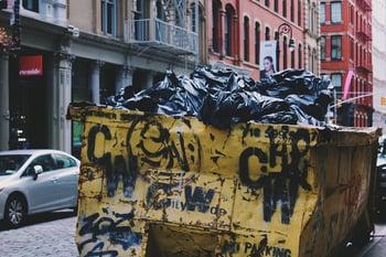 Garbage Dumpster Photo by Alina Grubnyak on Unsplash