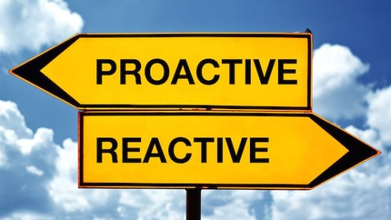 Proactive vs Reactive Sign