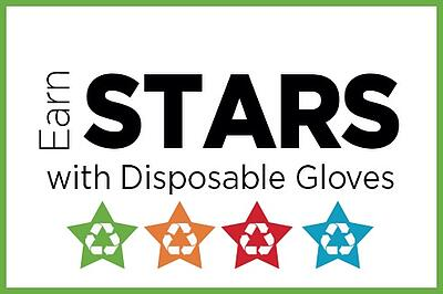 Earn AASHE STARS with Disposable Gloves