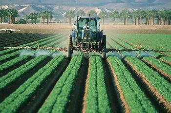 Tractor Spray Fungicide