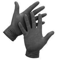 Black Diamond Textured Nitrile Gloves