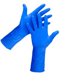 Blue Diamond Textured Nitrile Gloves