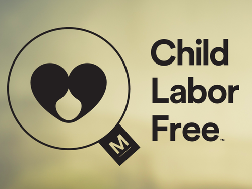 Proud to Be Child Labor Free Certified!