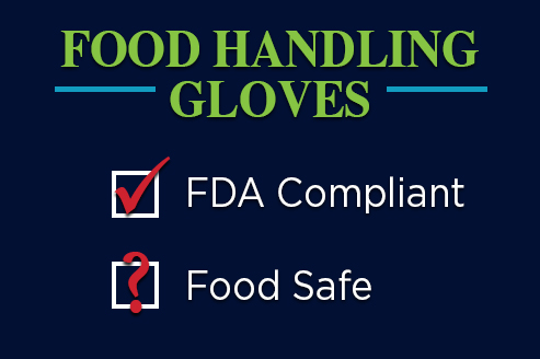 FDA Certified Gloves Food Safe