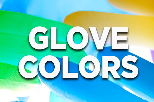 Disposable Gloves for food handling colors