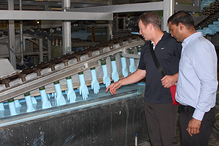 Disposable Glove manufacturing line