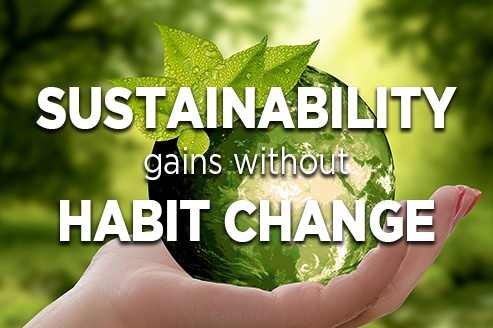 Sustainability Gain without Change